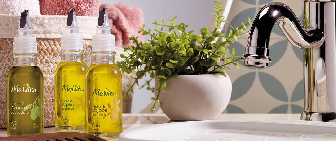 Nos huiles végétales bio